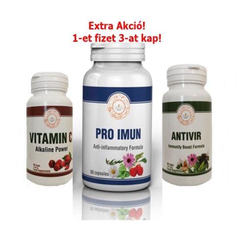 AntiVir Med kézfertőtlenítő gél 100 ppm ezüst kolloiddal  5x50 ml