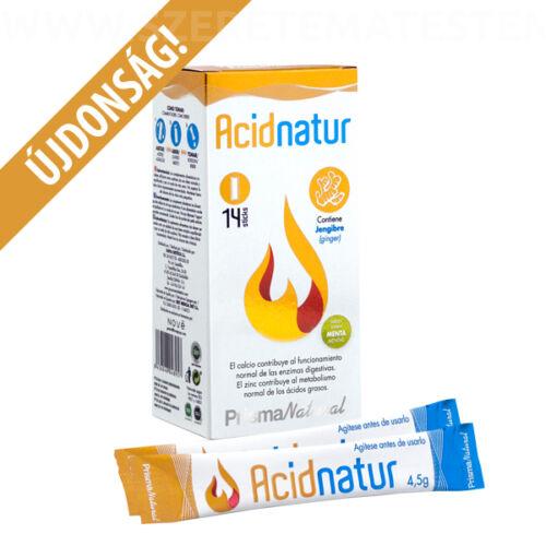 Acidnatur - természetes összetevőkből álló készítmény a gyomorégés megszüntetésére