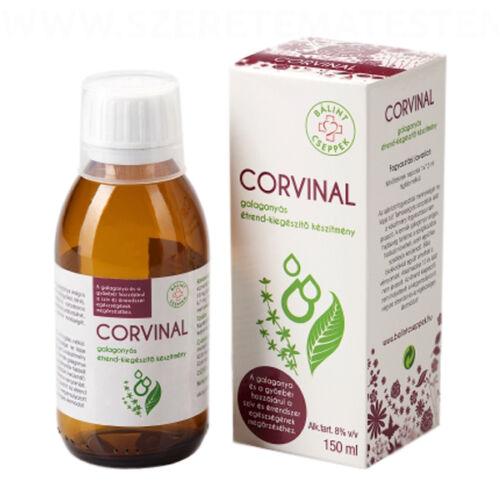 CORVINAL - galagonyás étrend-kiegészítő készítmény