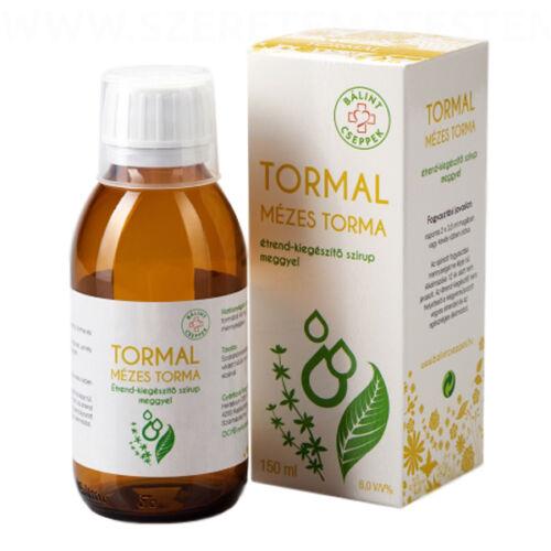 TORMAL - mézes torma étrend-kiegészítő szirup