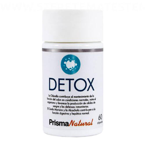 Prisma Natural Detox - méregtelenítő kapszula