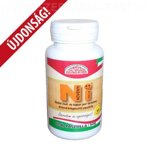 NI - növényi inulin pasztilla