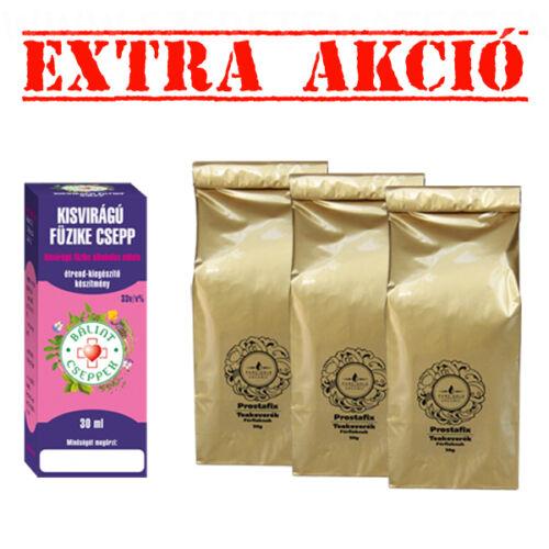 Kisvirágú füzike csepp 50 ml + Prostafix teakeverék 3 tasak