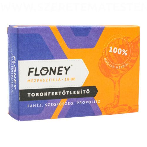 Floney mézpasztilla - Torokfertőtlenítő