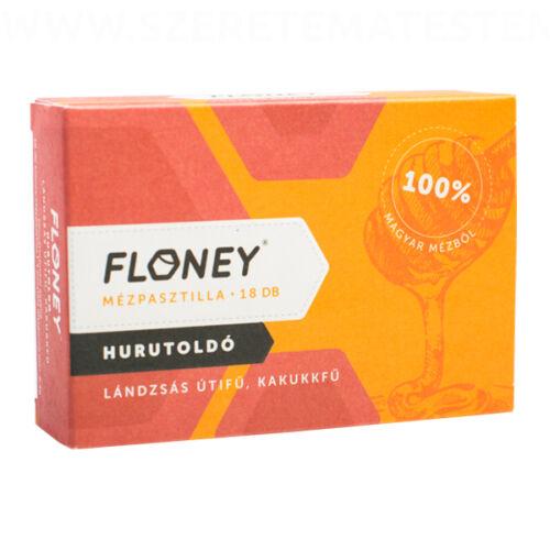 Floney mézpasztilla - Hurutoldó