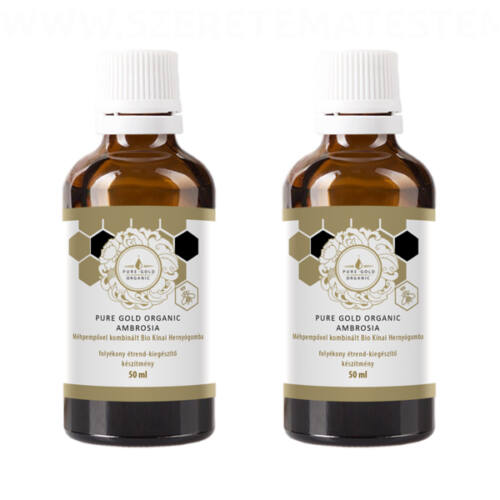 Pure Gold Organic Ambrosia 2x50ml