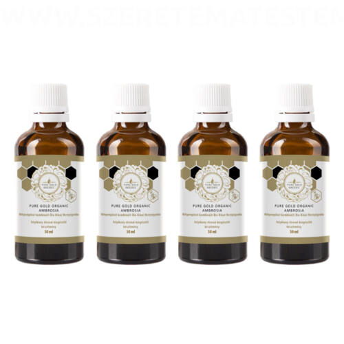 Pure Gold Organic Ambrosia 4x50ml