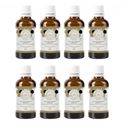 Pure Gold Organic Ambrosia 8x50ml