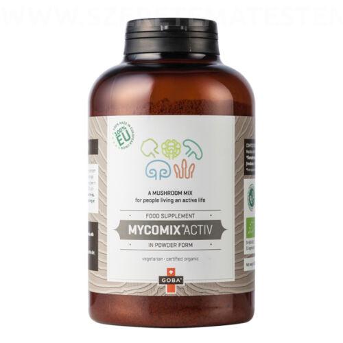 GOBA MycoMix Activ - étrend-kiegésztítő bio gombakeverék por aktív életet élőknek