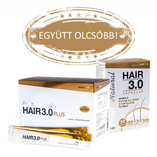 Hair 3.0 hajregeneráló csomag: kapszula + ivógél
