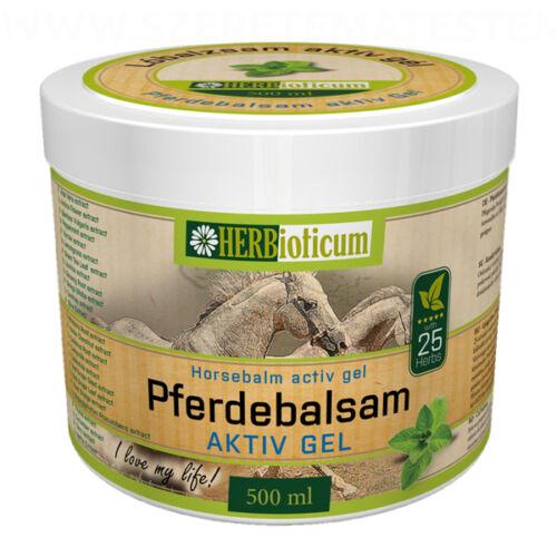 Herbioticum - Lóbalzsam aktív gél 500ml