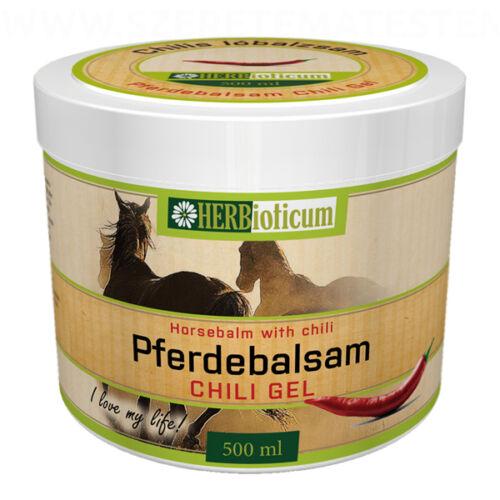 Herbioticum - Chilis lóbalzsam gél 500ml
