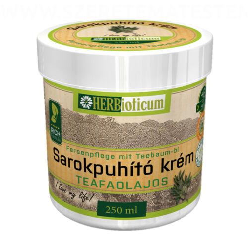 Herbioticum - Sarokpuhító krém teafaolajal