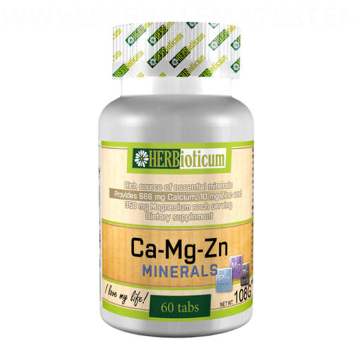 Herbioticum - Ca-Mg-Zn Minerals