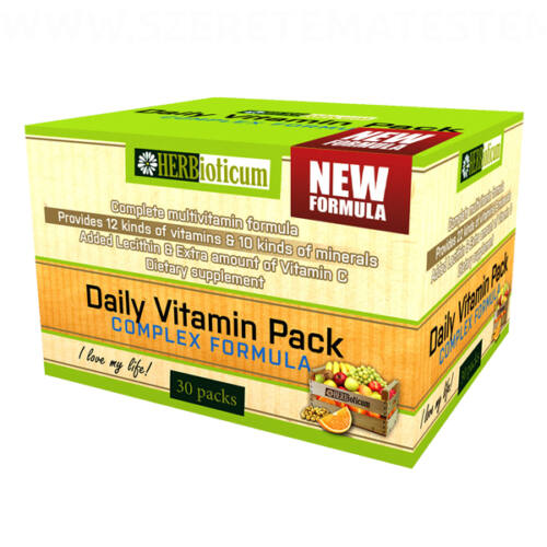 Herbioticum - Daily Vitamin Pack New Formula