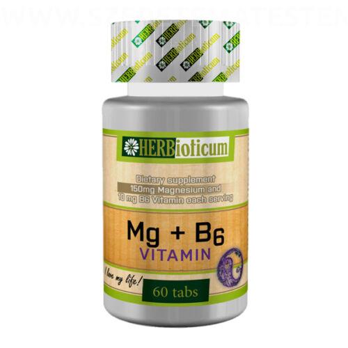 Herbioticum - Magnézium + B6-vitamin