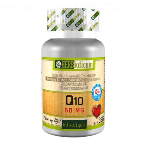 Herbioticum - Koenzim Q10-et tartalmazó lágyzselatin kapszula