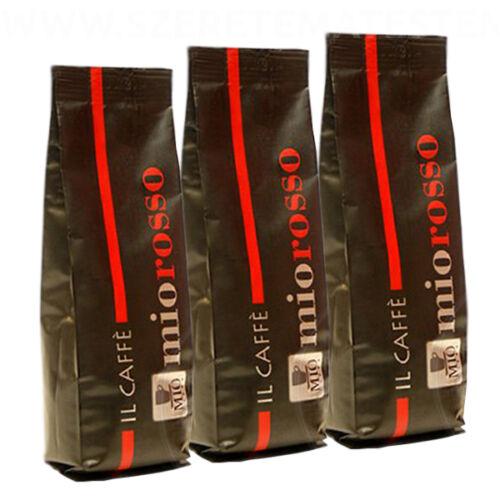 Mio Rosso - őrölt kávé 3 x 250g