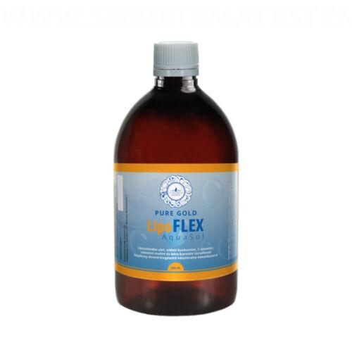 LipoFLEX AquaSol - liposzomális kurkumin c-vitaminnal és inulinnal 250ml
