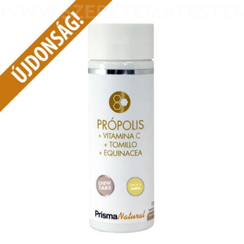 Prisma Natural Propolis - Propoliszos pasztilla C-vitaminnal és gyógynövényekkel