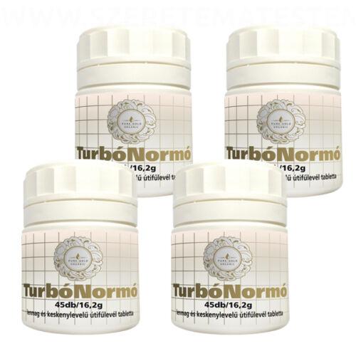 Pure Gold Organic TurbóNormó béltisztító tabletta 4 x 45db