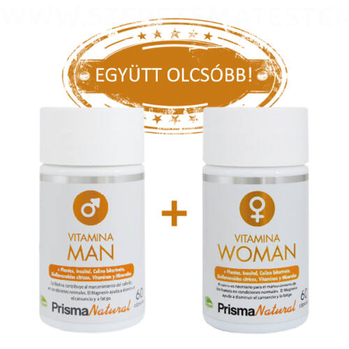 Prisma Natural Vitamina Man + Vitamina Women